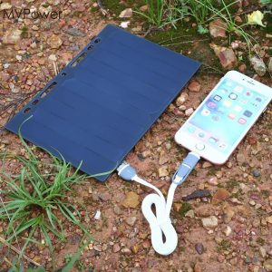 Portable Solar Panel Charger USB 5V