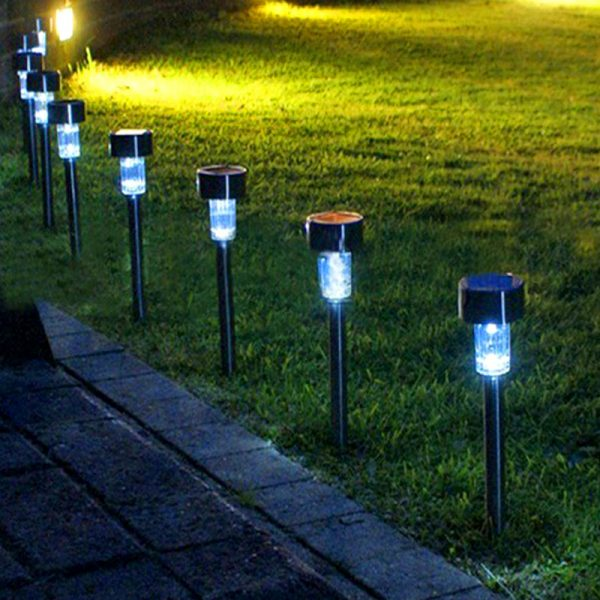 Led Solar Light For Garden/Yard Outdoor Pathway Waterproof (10 pieces)