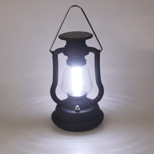 Solar Power & Hand Crank Camping Light Lamp
