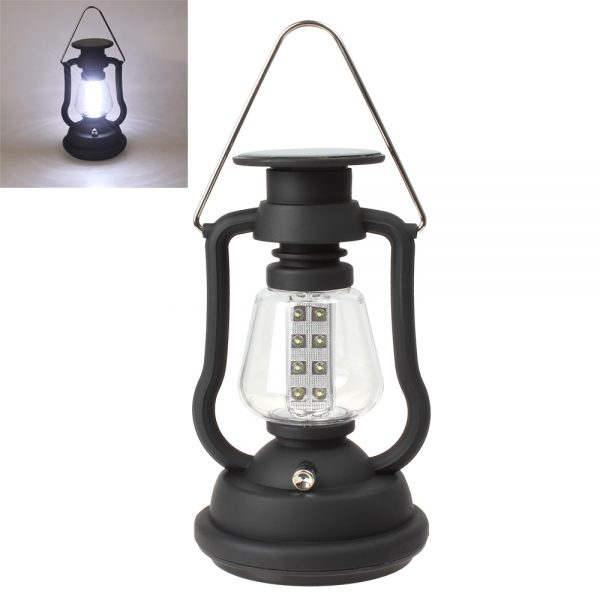 Solar Power & Hand Crank Camping Light Lamp