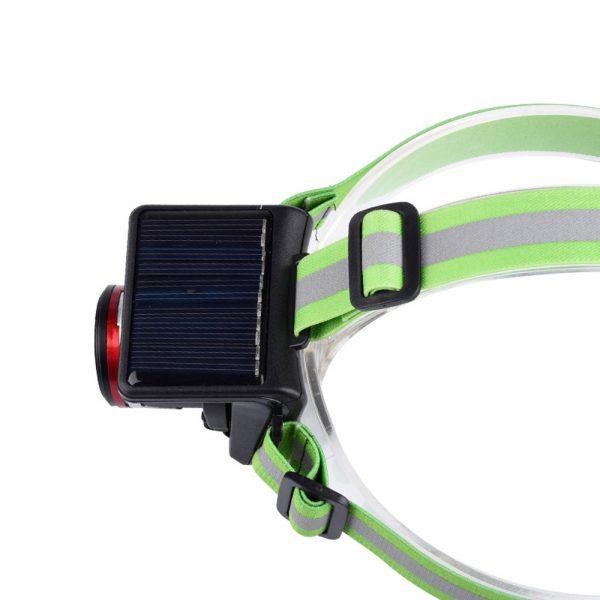 Solar Powered & Waterproof Headlamp