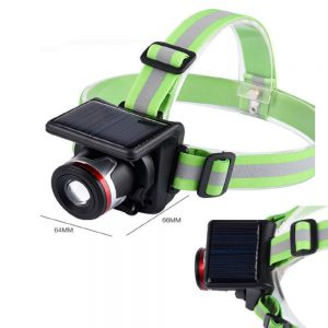 Solar Powered & Waterproof Headlamp
