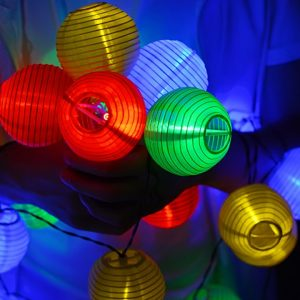 Garden String Lights Solar Powered