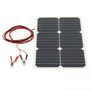 Solar Power Panel Semi Flexible Solar Cells Module