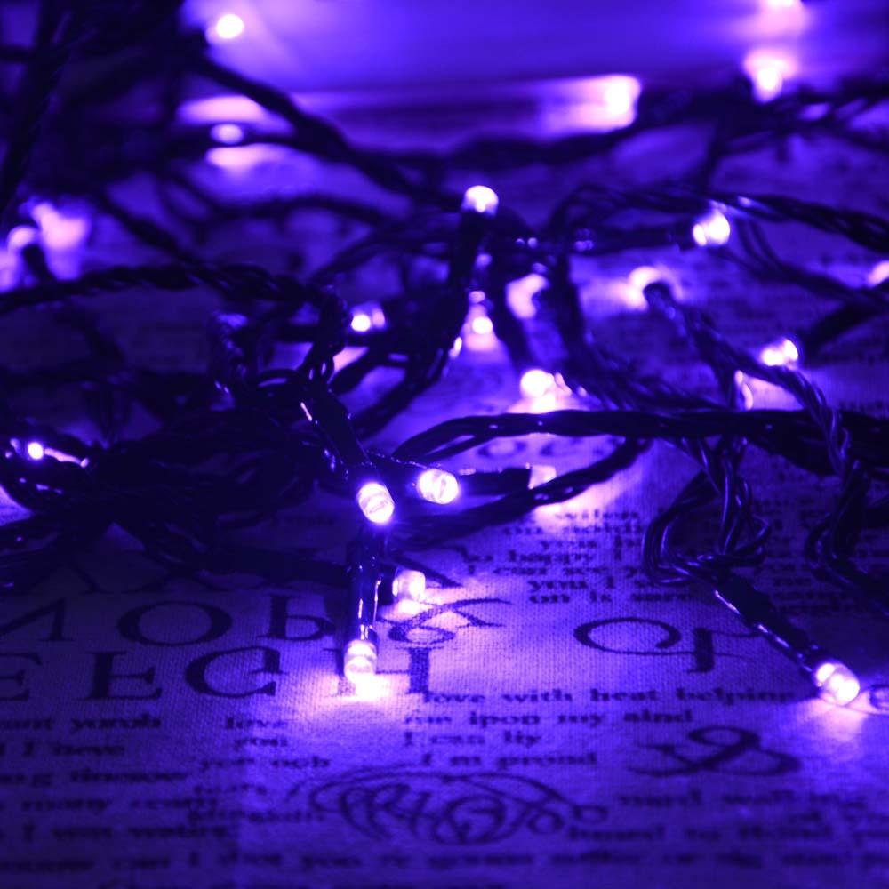 Amazon Com Purple Solar Rope Lights