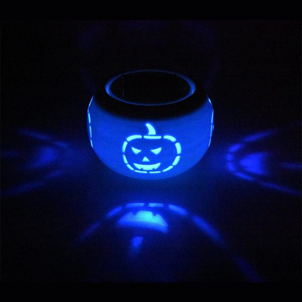 Halloween Color Change Solar Lamp