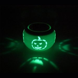 Halloween Color Change Solar Lamp