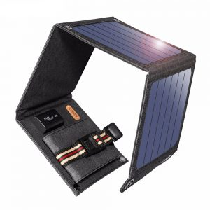 Portable Solar Panels 14W Solar Cells Charger 5V 2.1A USB