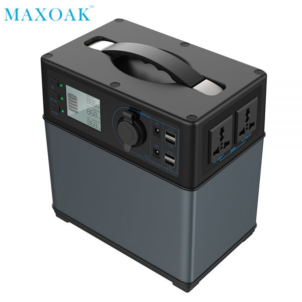 Solar powered bank charger 400Wh Solar Generator li-ion Power Supply