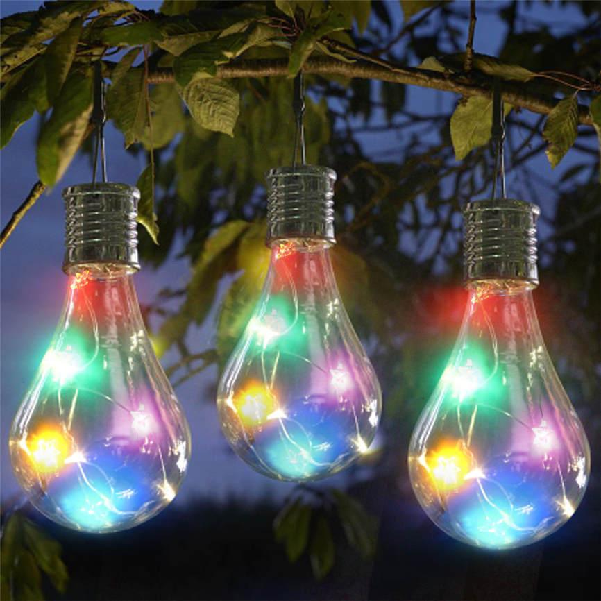 Waterproof Solar Garden Hanging Stars Lights Solar Boltz