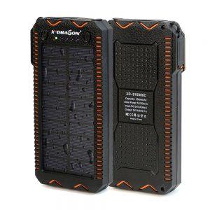 Solar Power Bank Portable 15000 mAh