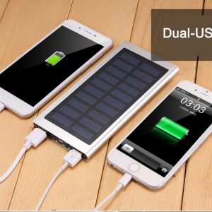 Ultra Thin Solar Power Bank Solar 20000 mAh