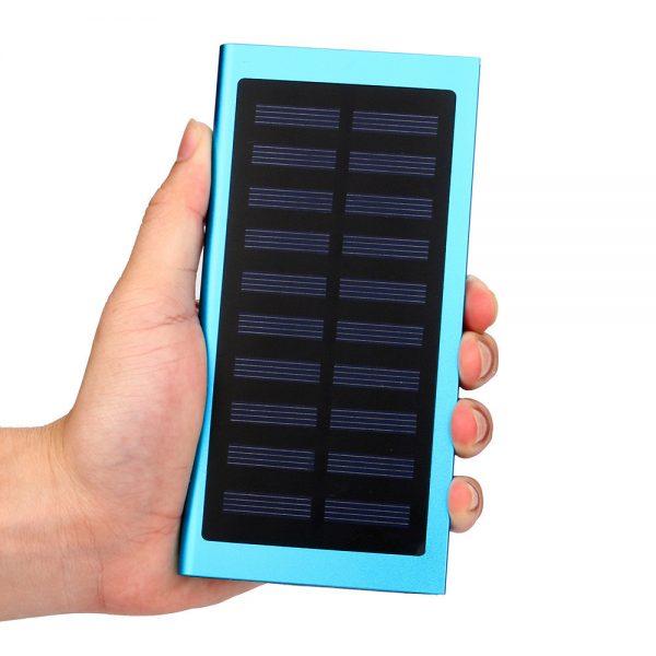 Ultra Thin Solar Power Bank Solar 20000 mAh