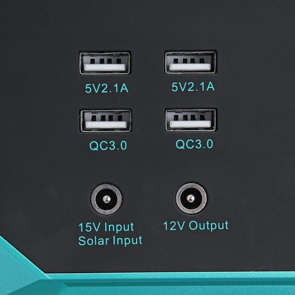 Solar Generator Inverter 250Wh 100W