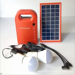 Portable Mini Solar Energy Kit Portable