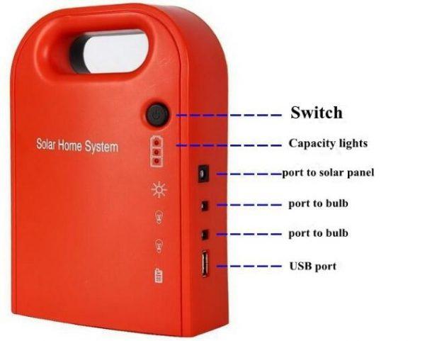 Portable Mini Solar Energy Kit Portable