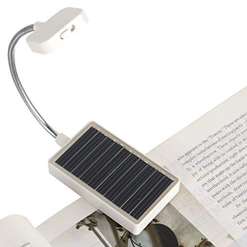 Solar Power Clip on Book Light