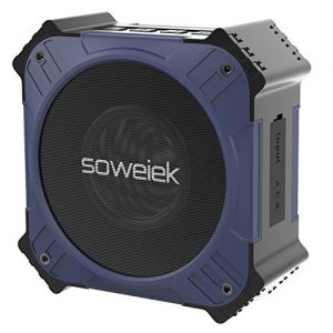 Solar Powered Bluetooth Speaker - Waterproof