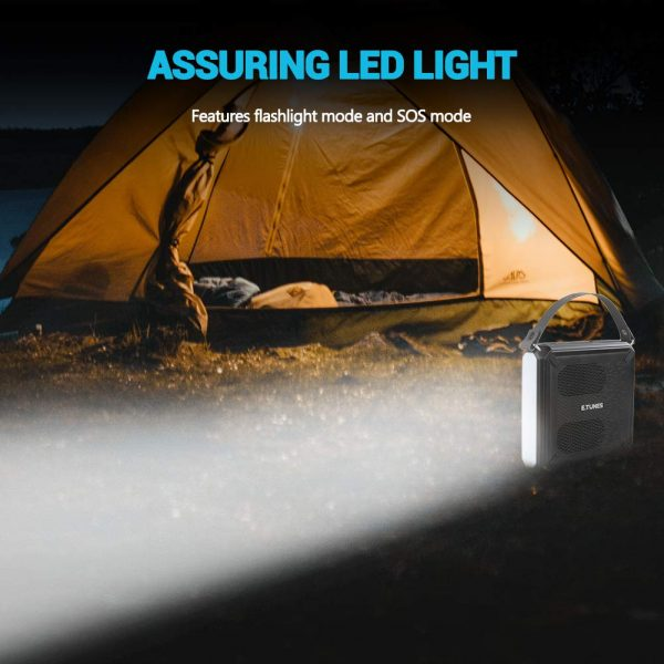 speaker solar powered